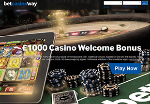 betway casino win